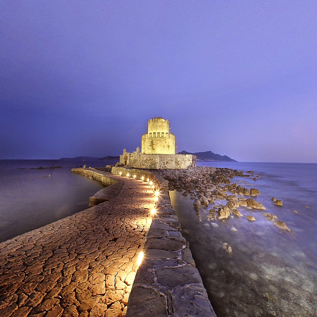 The Bourgi of the Castle of Methoni